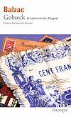 Gobseck et autres récits d'argent