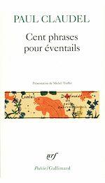 Téléchargez le livre :  Cent phrases pour éventails