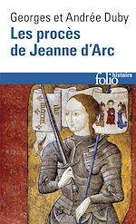 Download this eBook Les Procès de Jeanne d'Arc