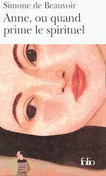 Download this eBook Anne, ou quand prime le spirituel