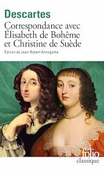 Download this eBook Correspondance avec Élisabeth de Bohême et Christine de Suède