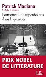 Download this eBook Pour que tu ne te perdes pas dans le quartier