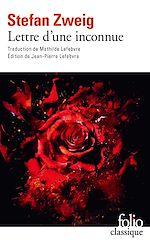 Download this eBook Lettre d'une inconnue (édition enrichie)