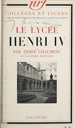 Download this eBook Le lycée Henri IV