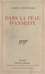 Download this eBook Dans la peau d'Annette