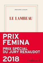 Le lambeau   Lançon, Philippe