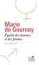 Download this eBook Égalité des hommes et des femmes et autres textes