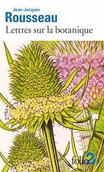 Download this eBook Lettres sur la botanique