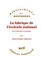 Download this eBook La fabrique de l'écrivain national