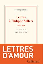 Download this eBook Lettres à Philippe Sollers (1958-1980)