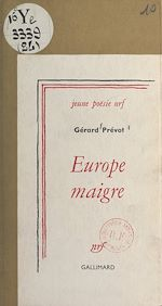Download this eBook Europe maigre