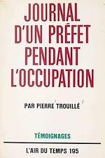Download this eBook Journal d'un Préfet pendant l'Occupation