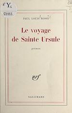 Download this eBook Le voyage de Sainte Ursule