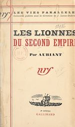 Download this eBook Les lionnes du Second Empire