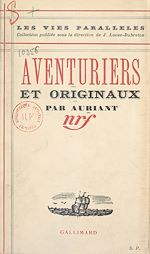 Download this eBook Aventuriers et originaux
