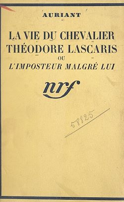 Download the eBook: La vie du Chevalier Théodore Lascaris