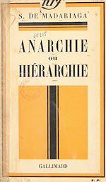 Download this eBook Anarchie ou hiérarchie