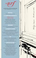 Téléchargez le livre :  La Nouvelle Revue Française N° 633