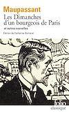 Télécharger le livre :  Les Dimanches d'un bourgeois de Paris et autres nouvelles