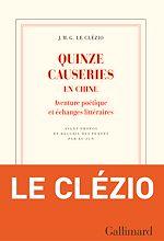 Download this eBook Quinze causeries en Chine. Aventure poétique et échanges littéraires
