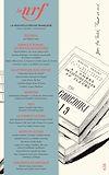 Télécharger le livre :  La Nouvelle Revue Française N° 636