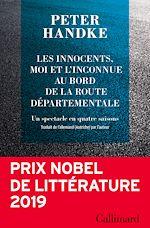 Download this eBook Les innocents, moi et l'inconnue au bord de la route départementale