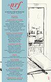 Télécharger le livre :  La Nouvelle Revue Française N° 641