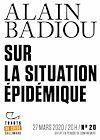 Télécharger le livre :  Tracts de Crise (N°20) - Sur la situation épidémique