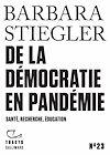 Télécharger le livre :  Tracts (N° 23) - De la démocratie en Pandémie