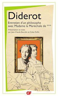 Téléchargez le livre :  Entretien d'un philosophe avec Madame la Maréchale de ***