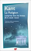 Télécharger le livre :  La Religion comprise dans les limites de la seule raison