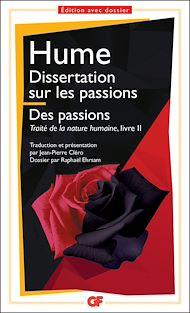 Téléchargez le livre :  Dissertation sur les passions. Des passions