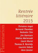 Télécharger cet ebook : Flammarion : catalogue de la rentrée littéraire 2015