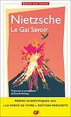 Télécharger le livre :  Le Gai Savoir (Prépas scientifiques 2021)