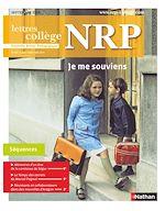 Download this eBook NRP Collège - Je me souviens - Septembre 2018 (Format PDF)