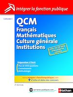 Download this eBook QCM Français - Mathématiques - Culture générale - Institutions