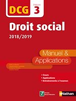 Download this eBook DCG 3 - Droit social - 2018-2019