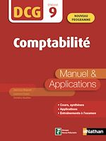 Download this eBook Introduction à la comptabilité - DCG Epreuve 9 - Manuel et applications (Epub 3 RF) - 2019
