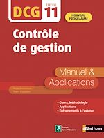 Download this eBook Contrôle de gestion - DCG Epreuve 11 - Manuel et applications (Epub 3 RF) - 2019