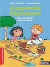 Télécharger le livre :  Les apprentis chercheurs, des empreintes dans la pierre - Roman Passion - De 7 à 11 ans