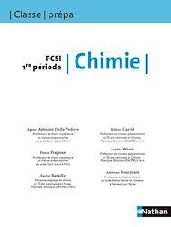 Téléchargez le livre :  Chimie - PCSI 1re période