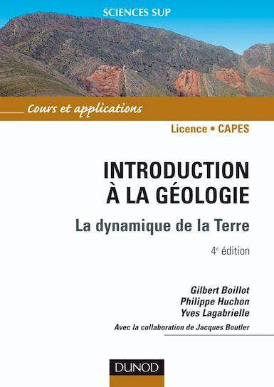 Introduction à la géologie. 4ème édition.