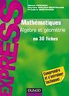 Télécharger le livre :  Mathématiques L1/L2 : Algèbre/Géométrie