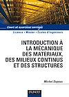 Télécharger le livre :  Introduction à la mécanique des matériaux et des structures