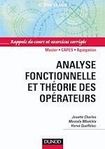 Téléchargez le livre :  Analyse fonctionnelle et théorie des opérateurs