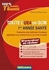 Télécharger le livre :  Toute l'UE4 en QCM, 1re année Santé