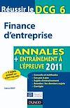 Télécharger le livre :  Réussir le DCG 6 - Finance d'entreprise 2011 - 3e é.