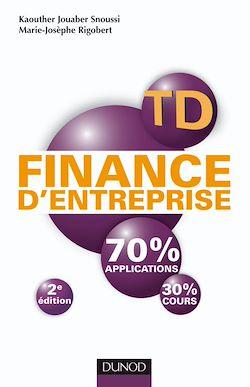 TD de finance d'entreprise - 2e édition