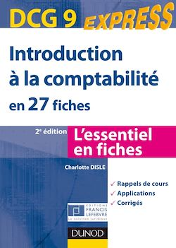 Introduction à la comptabilité - DCG 9 - 2e éd.