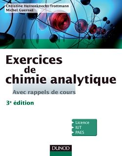 Exercices de Chimie analytique - 3e éd.